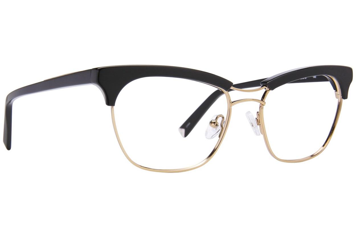 Kendall + Kylie Piper Black Eyeglasses