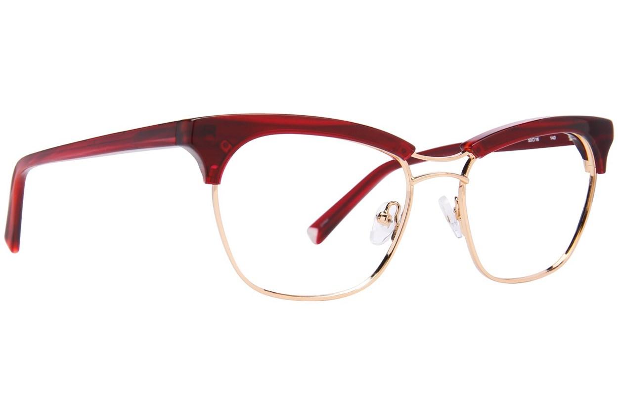 Kendall + Kylie Piper Red Eyeglasses