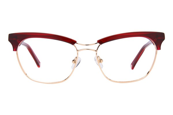 Kendall + Kylie Piper Red Eyeglasses