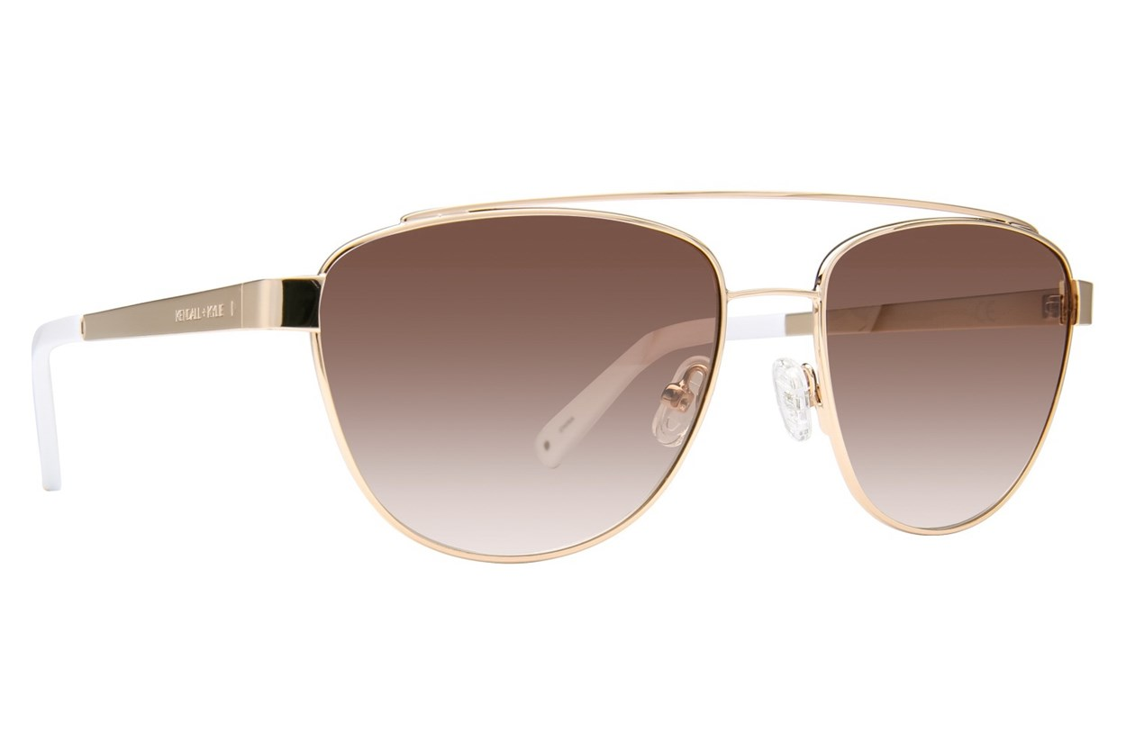 Kendall + Kylie Lexi Sunglasses - Gold