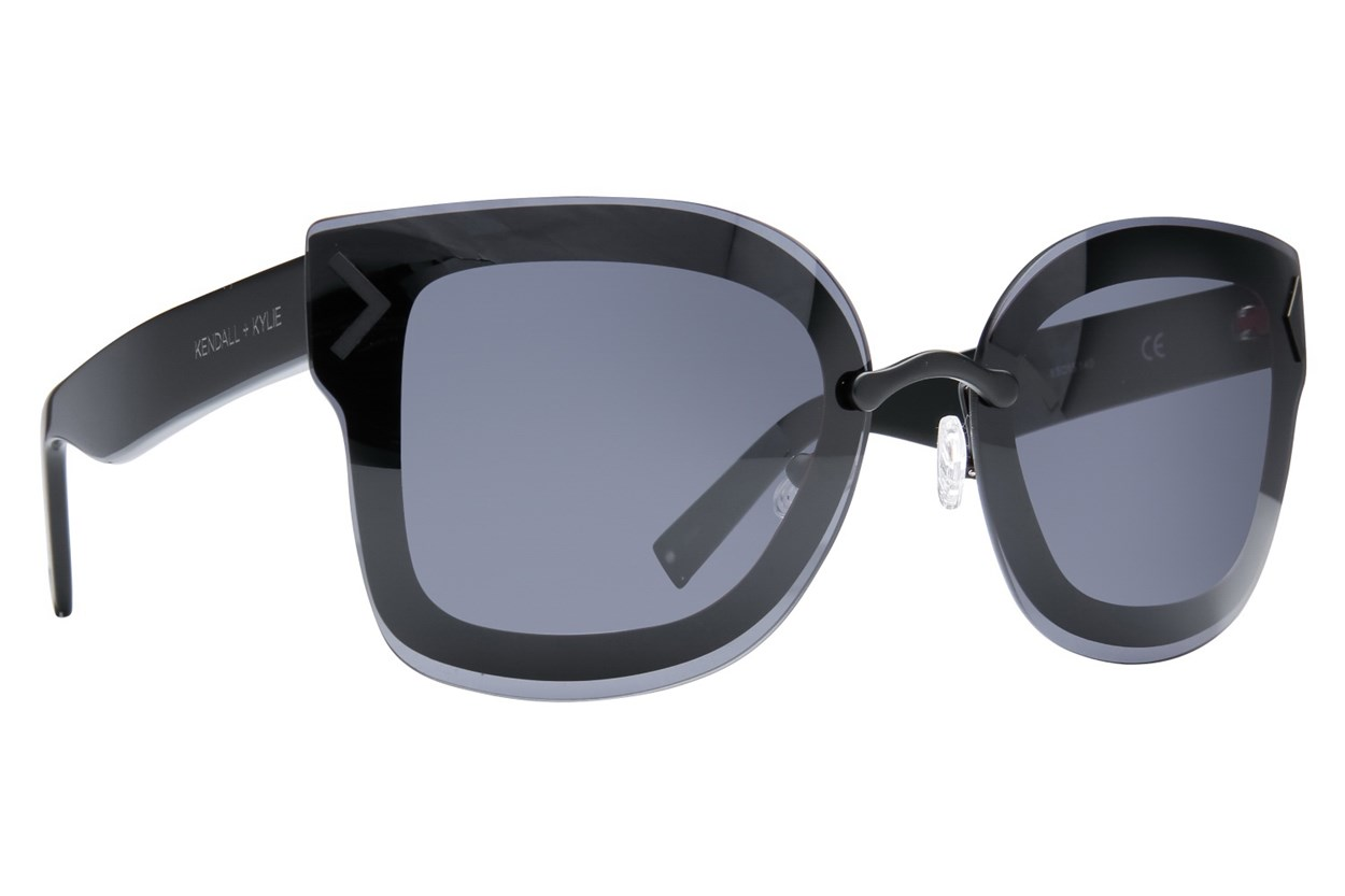Kendall + Kylie Priscilla Sunglasses - Black