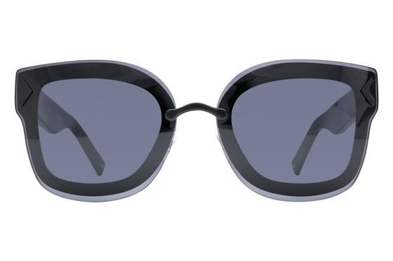 Kendall + Kylie Priscilla Black Sunglasses