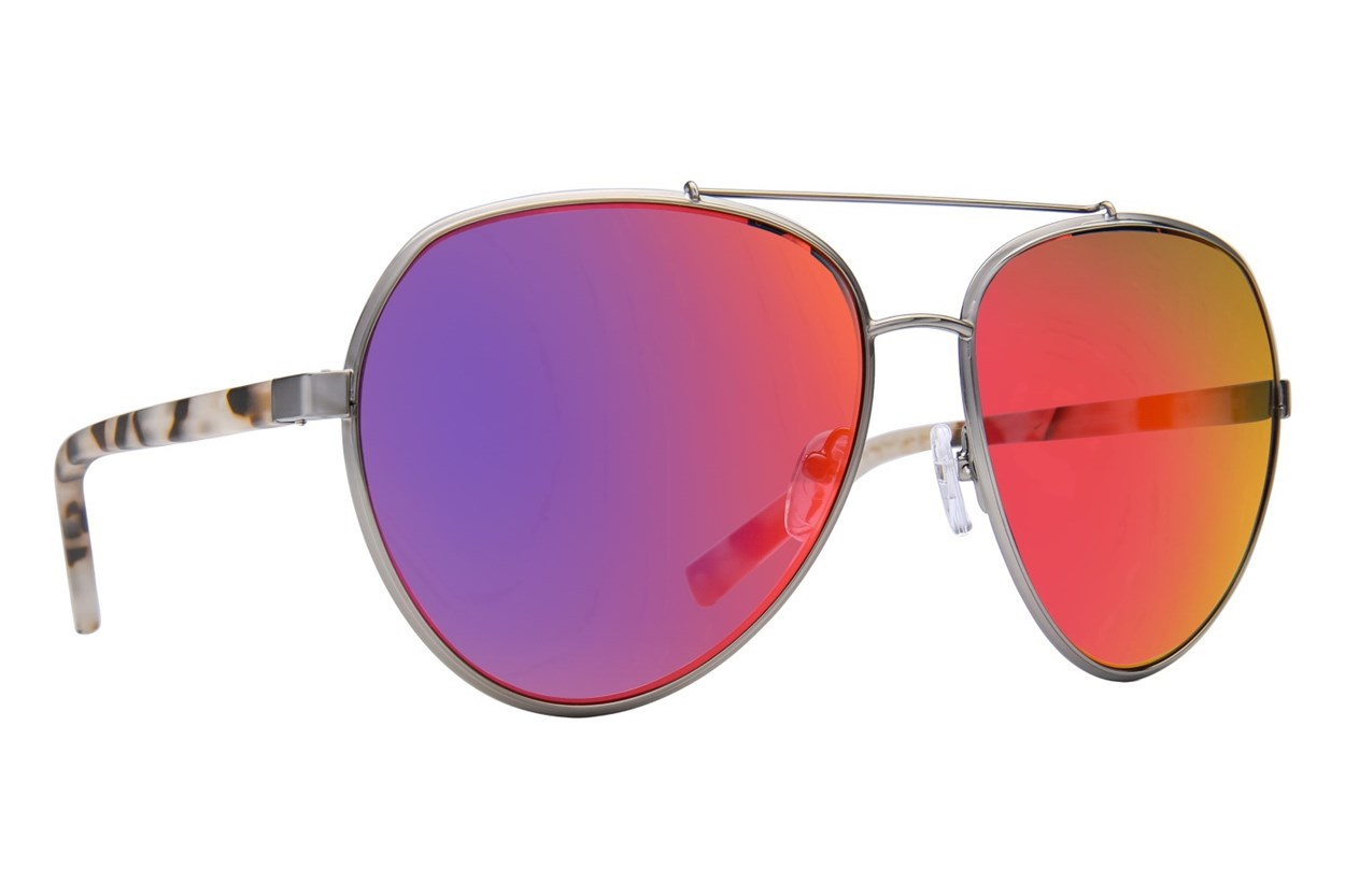 Kendall + Kylie Harley Silver Sunglasses