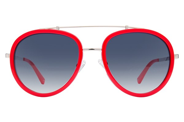 Kendall + Kylie Jules Red Sunglasses