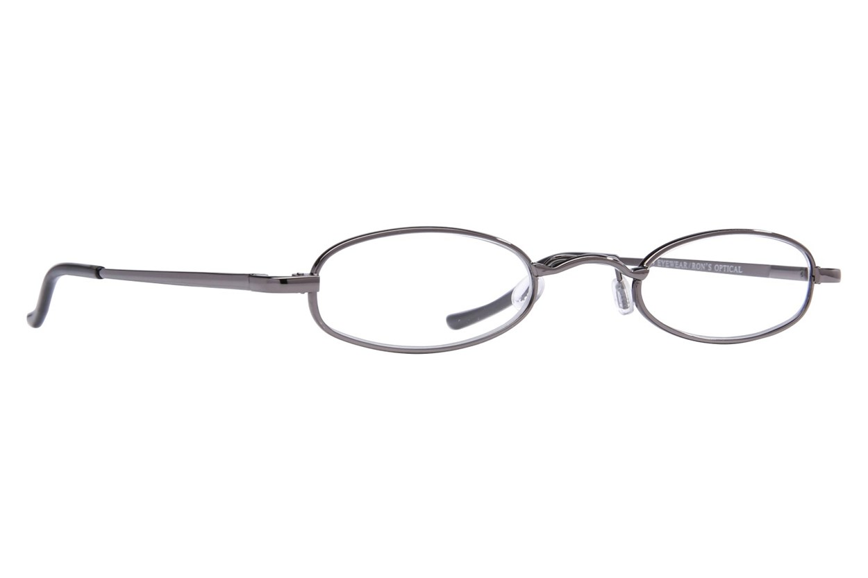 I Heart Eyewear Tube Reading Glasses Gray