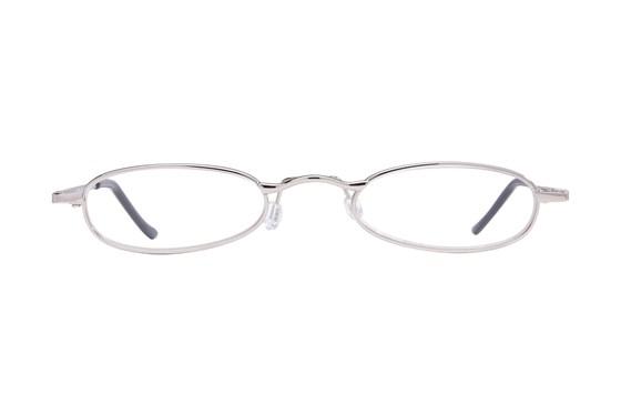 I Heart Eyewear Tube Reading Glasses Silver ReadingGlasses