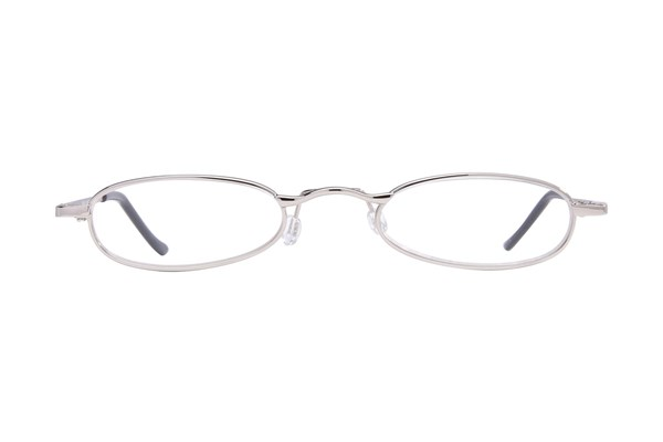 I Heart Eyewear Tube Reading Glasses Silver ReadingGlasses