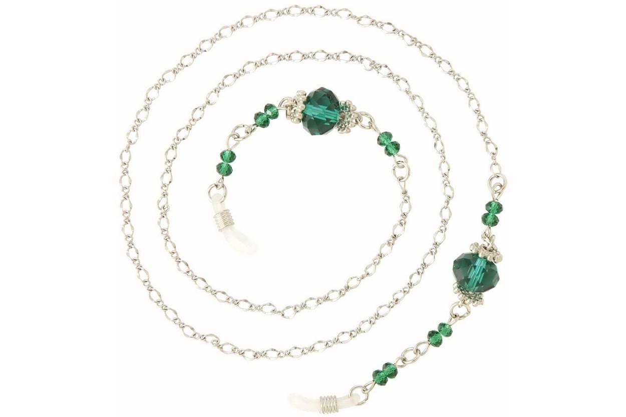 I Heart Eyewear Eva-Green Chain  GlassesChainsStraps
