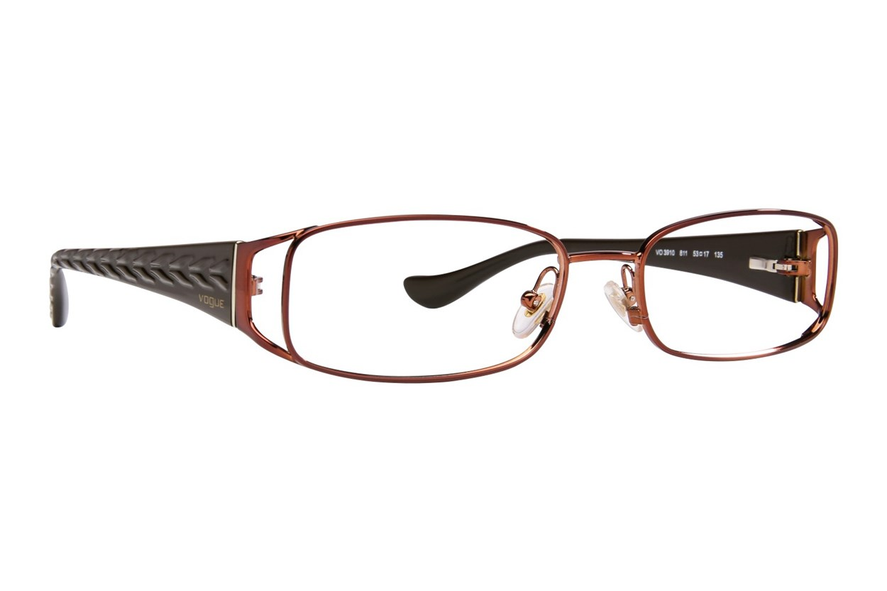 Vogue VO3910 Brown Eyeglasses