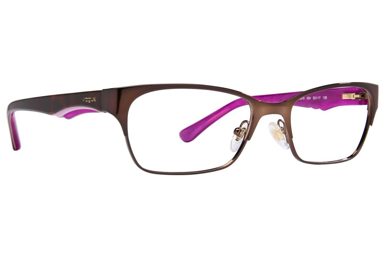 Vogue VO3918 Brown Eyeglasses
