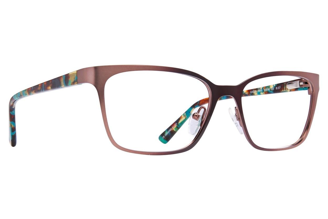 GX By Gwen Stefani GX021 Brown Eyeglasses