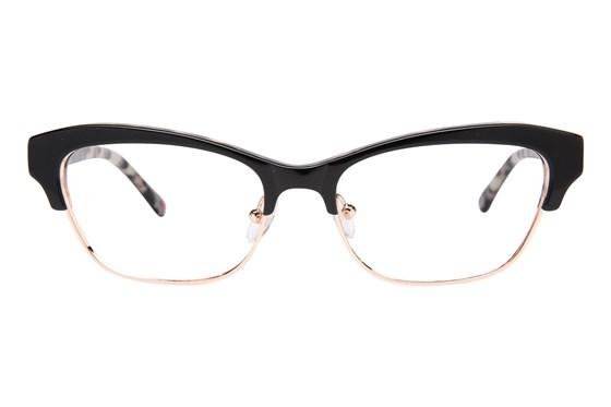 Lulu Guinness L776 Black Eyeglasses