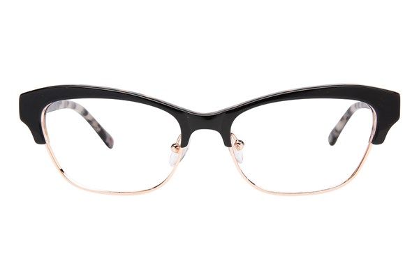Lulu Guinness L776 Black Eyeglasses