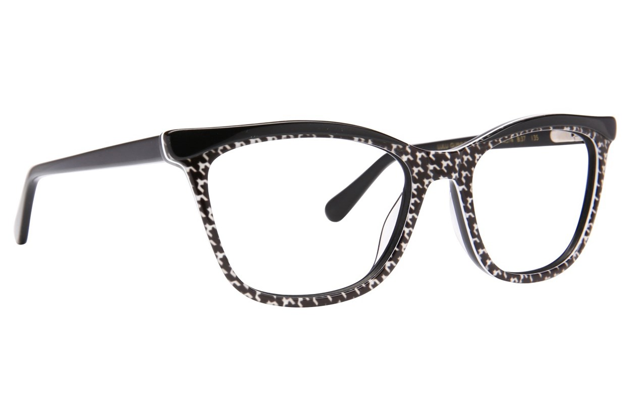 Lulu Guinness L892 Black Eyeglasses