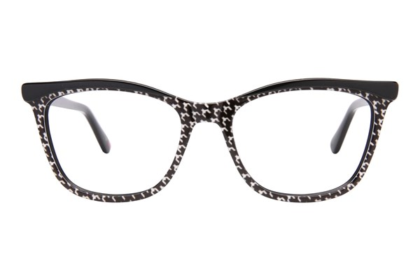 Lulu Guinness L892 Eyeglasses - Black