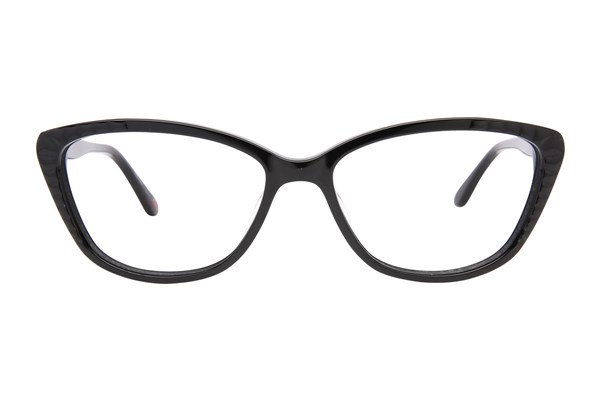 Lulu Guinness L894 Eyeglasses - Black