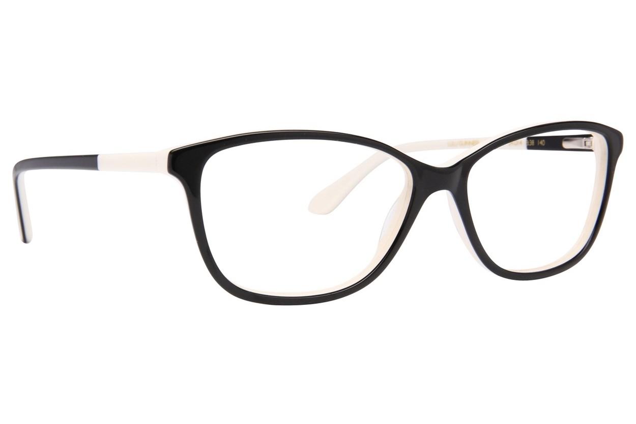 Lulu Guinness L895 Black Eyeglasses