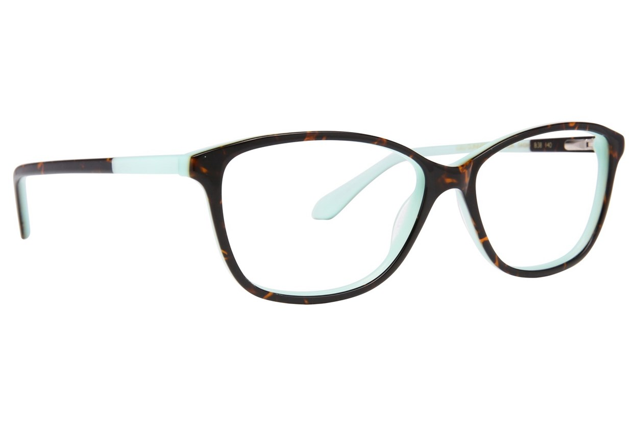 Lulu Guinness L895 Tortoise Eyeglasses
