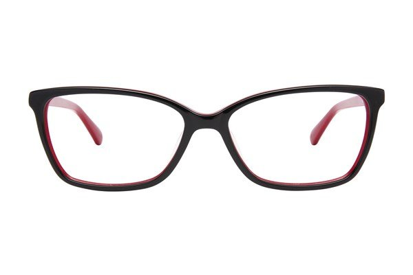 Lulu Guinness L896 Black Eyeglasses