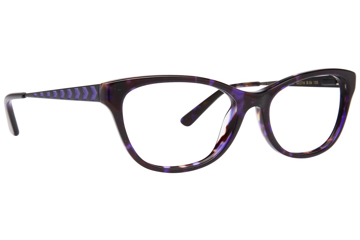 Lulu Guinness L897 Blue Eyeglasses