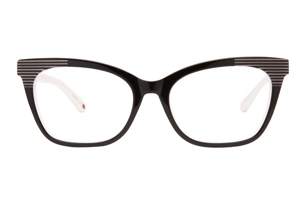 Lulu Guinness L898 Black Eyeglasses