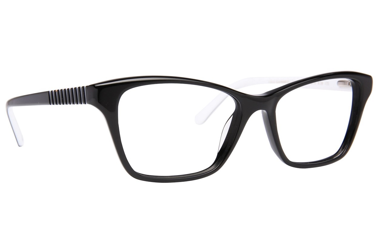 Lulu Guinness L899 Eyeglasses - Black