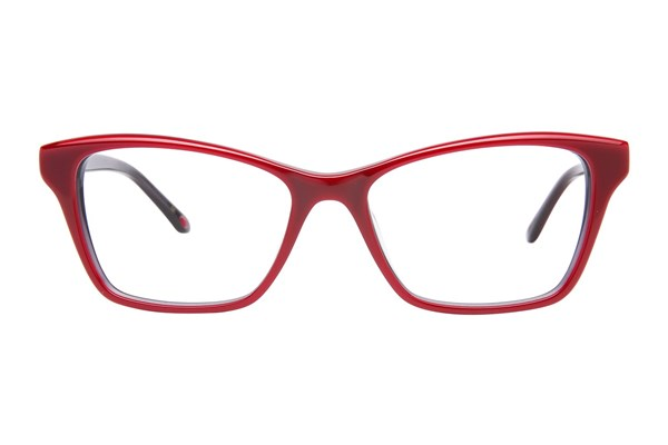 Lulu Guinness L899 Eyeglasses - Red