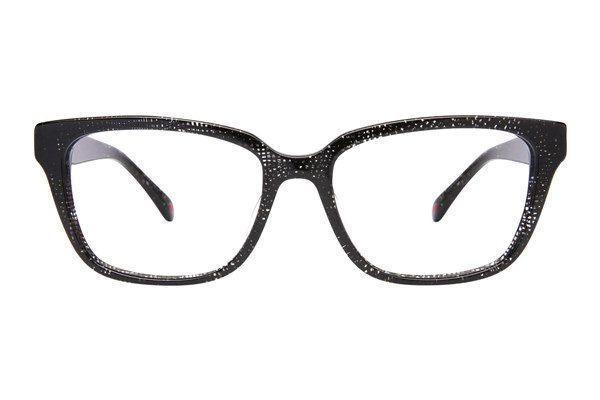Lulu Guinness L906 Eyeglasses - Black