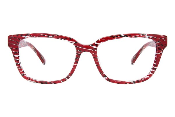 Lulu Guinness L906 Red Eyeglasses
