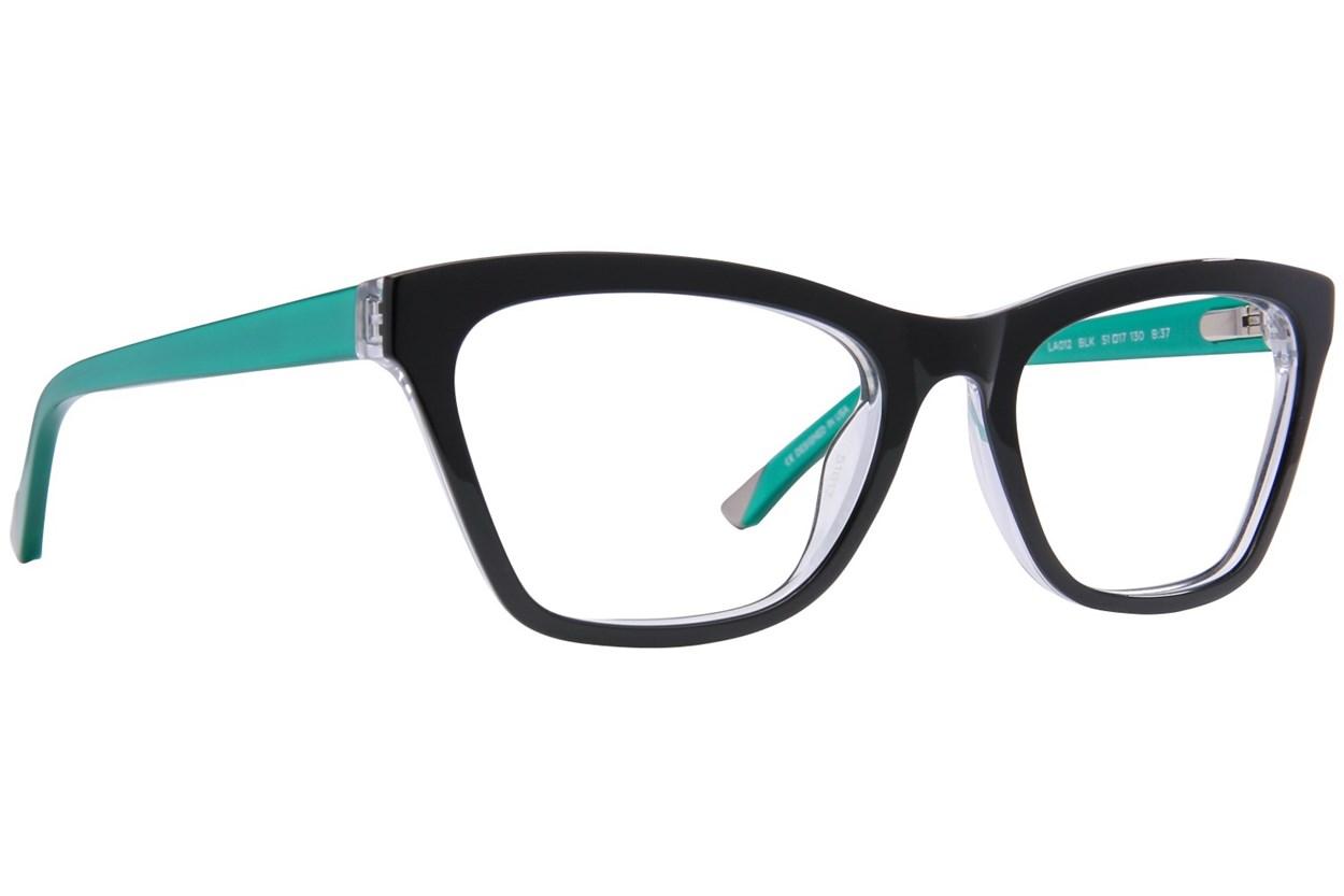 L.A.M.B. By Gwen Stefani LA012 Black Eyeglasses