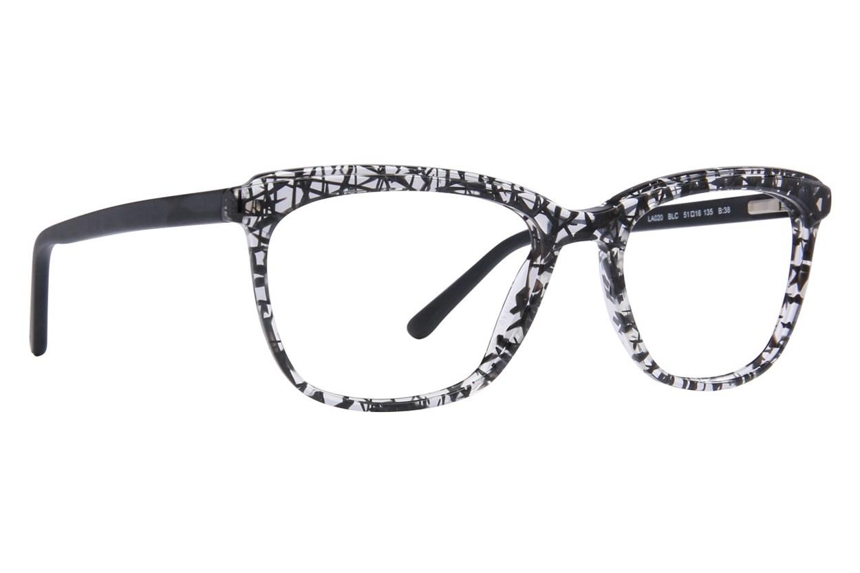 L.A.M.B. By Gwen Stefani LA020 Black Eyeglasses