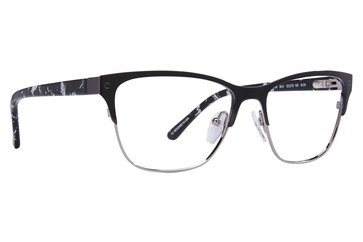 L.A.M.B. By Gwen Stefani LA026 Black Eyeglasses
