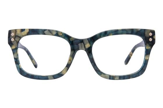 L.A.M.B. By Gwen Stefani LA029 Blue Eyeglasses