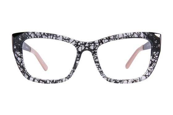 L.A.M.B. By Gwen Stefani LA032 Black Eyeglasses