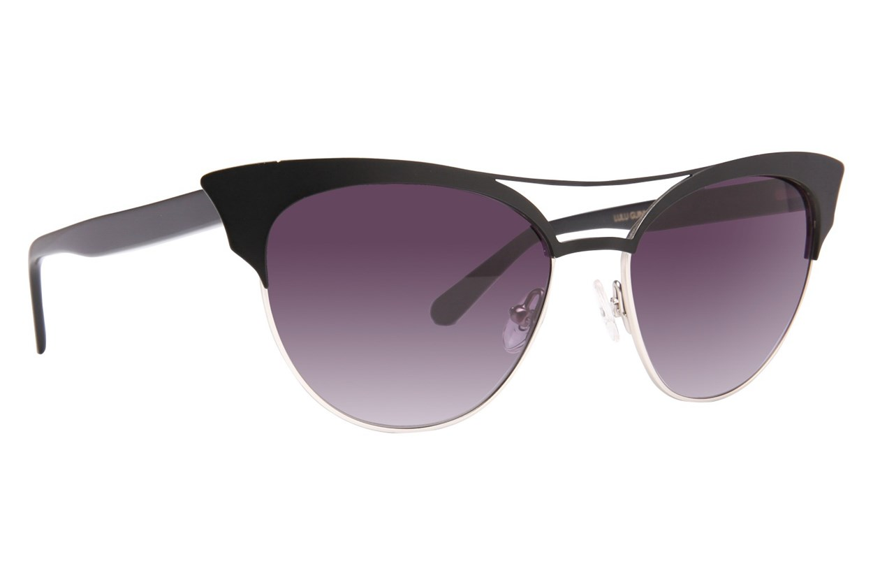 Lulu Guinness L126 Black Sunglasses