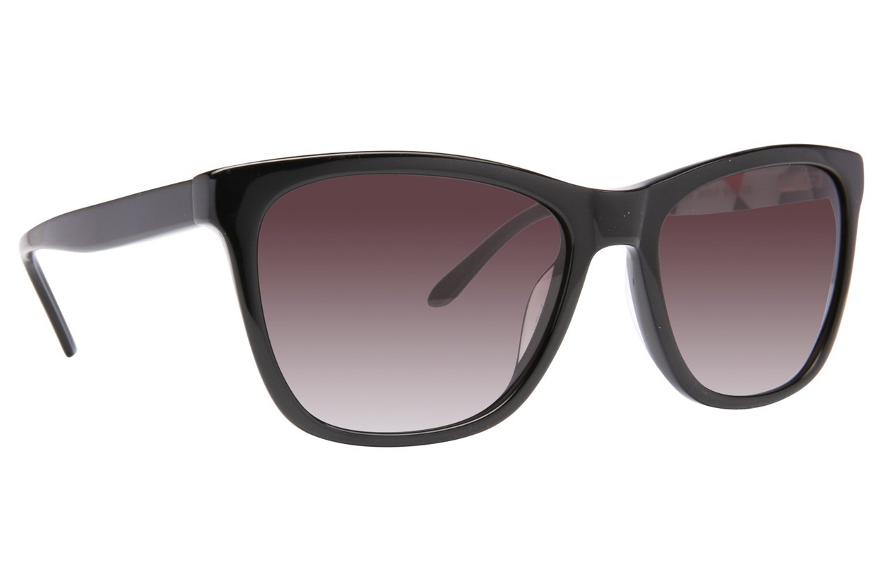 Lulu Guinness L137 Black Sunglasses