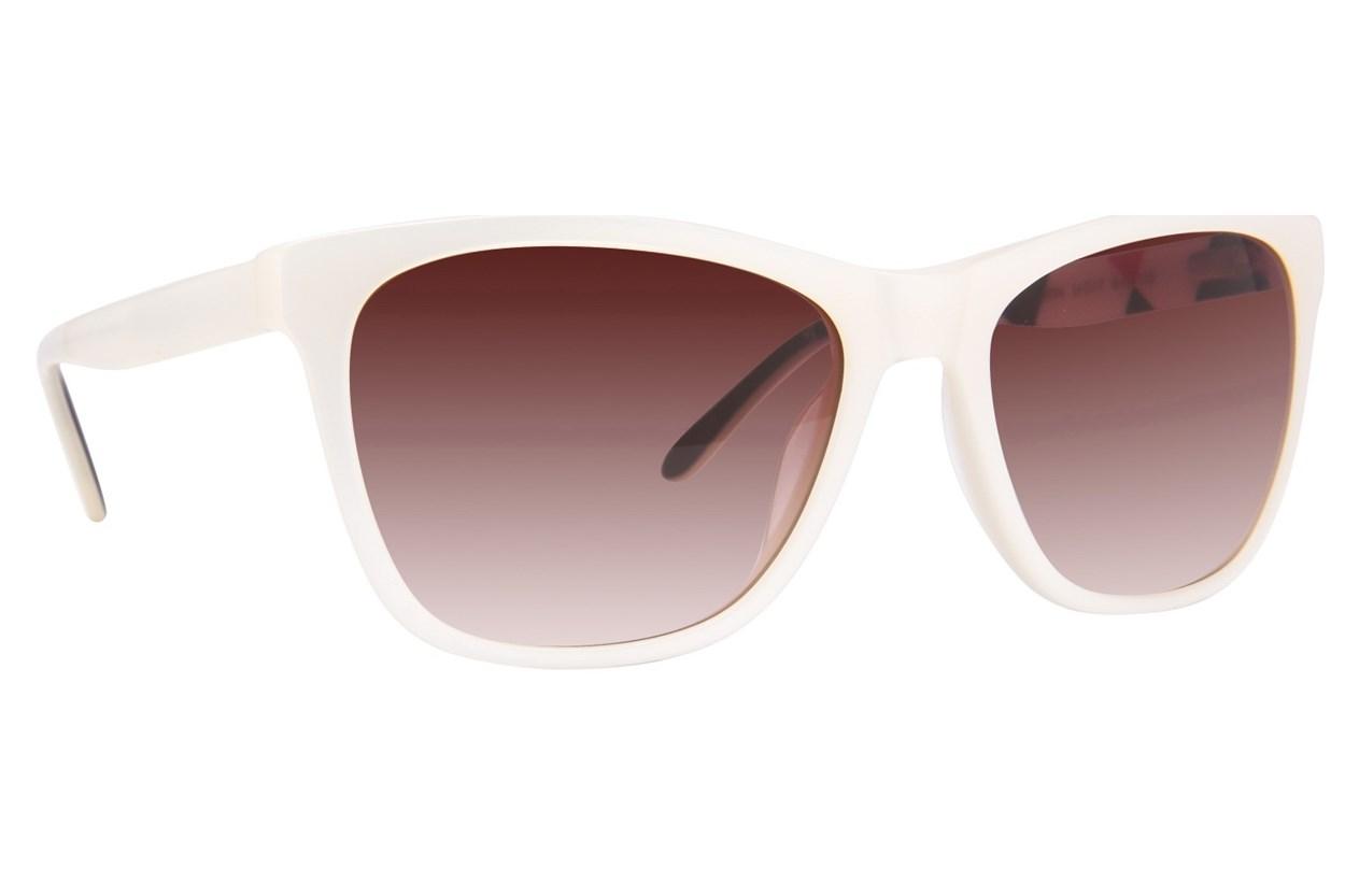 Lulu Guinness L137 White Sunglasses