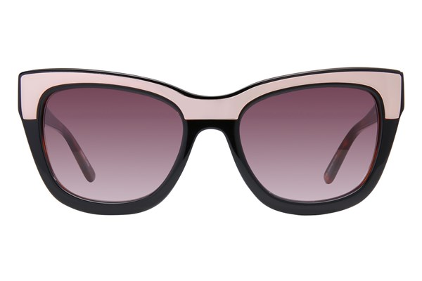 L.A.M.B. By Gwen Stefani LA522 Black Sunglasses