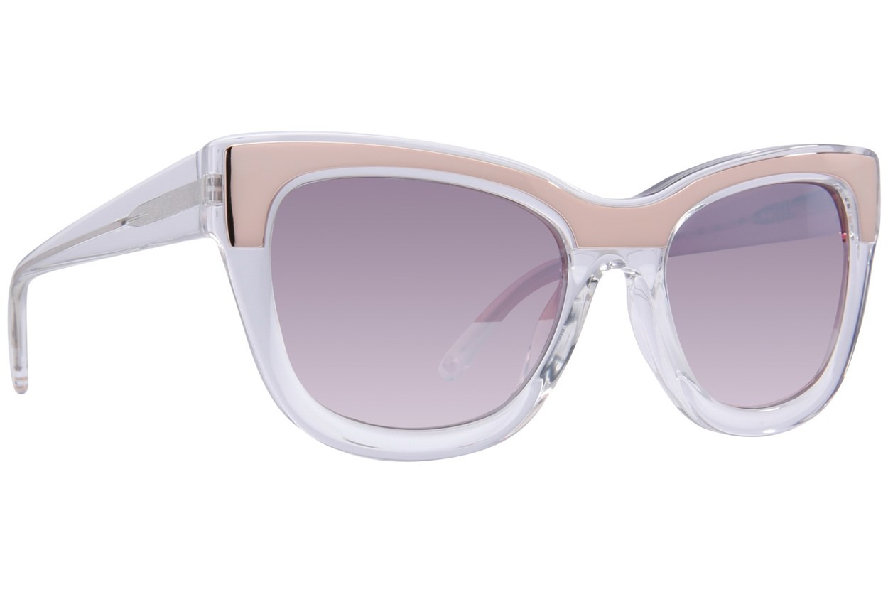 L.A.M.B. By Gwen Stefani LA522 Clear Sunglasses