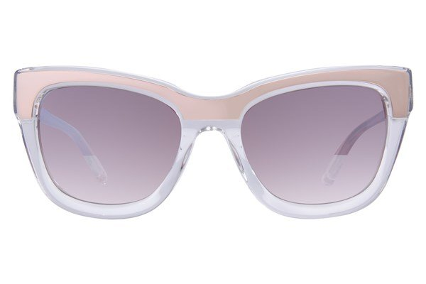 L.A.M.B. By Gwen Stefani LA522 Sunglasses - Clear