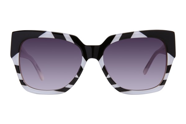 L.A.M.B. By Gwen Stefani LA523 Black Sunglasses