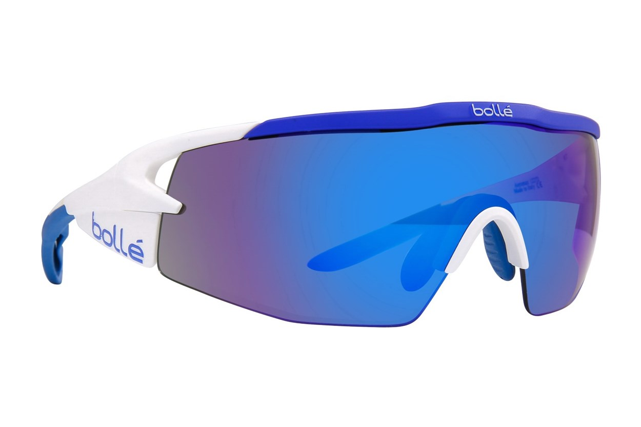 Bolle Aeromax White Sunglasses
