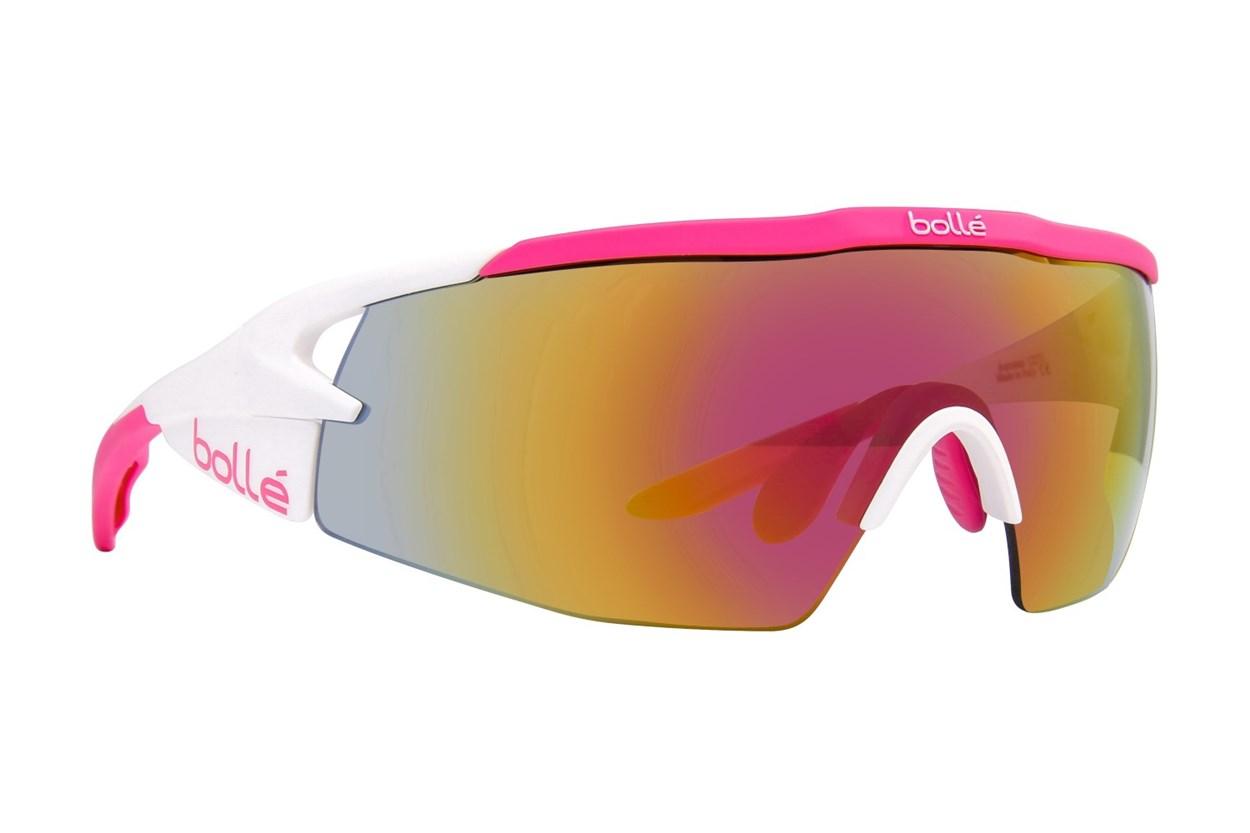 Bolle Aeromax White Sunglasses