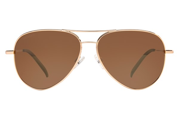 Serengeti Carrara Sunglasses - Gold