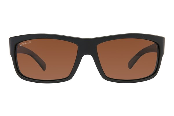 Serengeti Martino Black Sunglasses