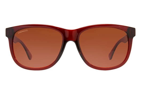 Serengeti Ostuni Red Sunglasses