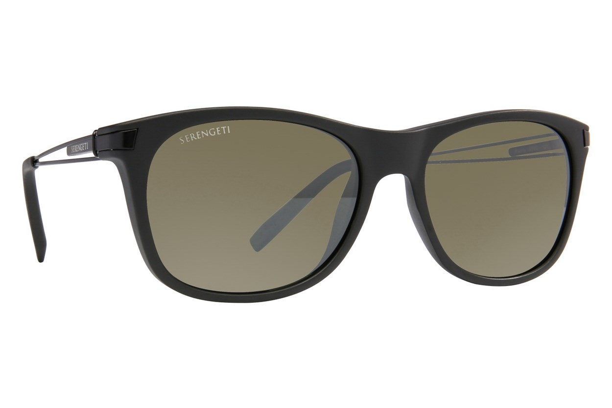 Serengeti Pavia Sunglasses - Black