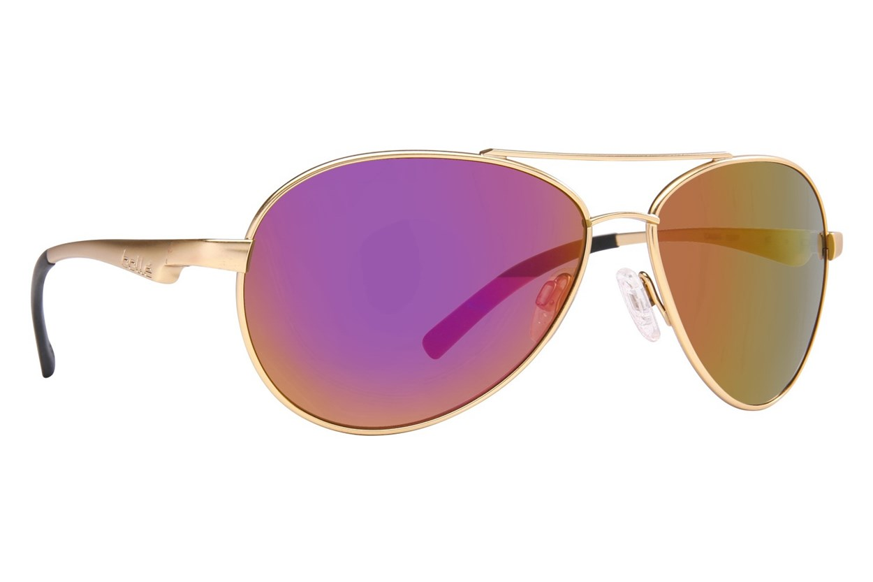 Bolle Cassis Gold Gold Sunglasses