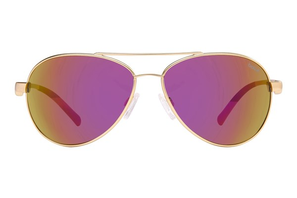 Bolle Cassis Gold Sunglasses - Gold
