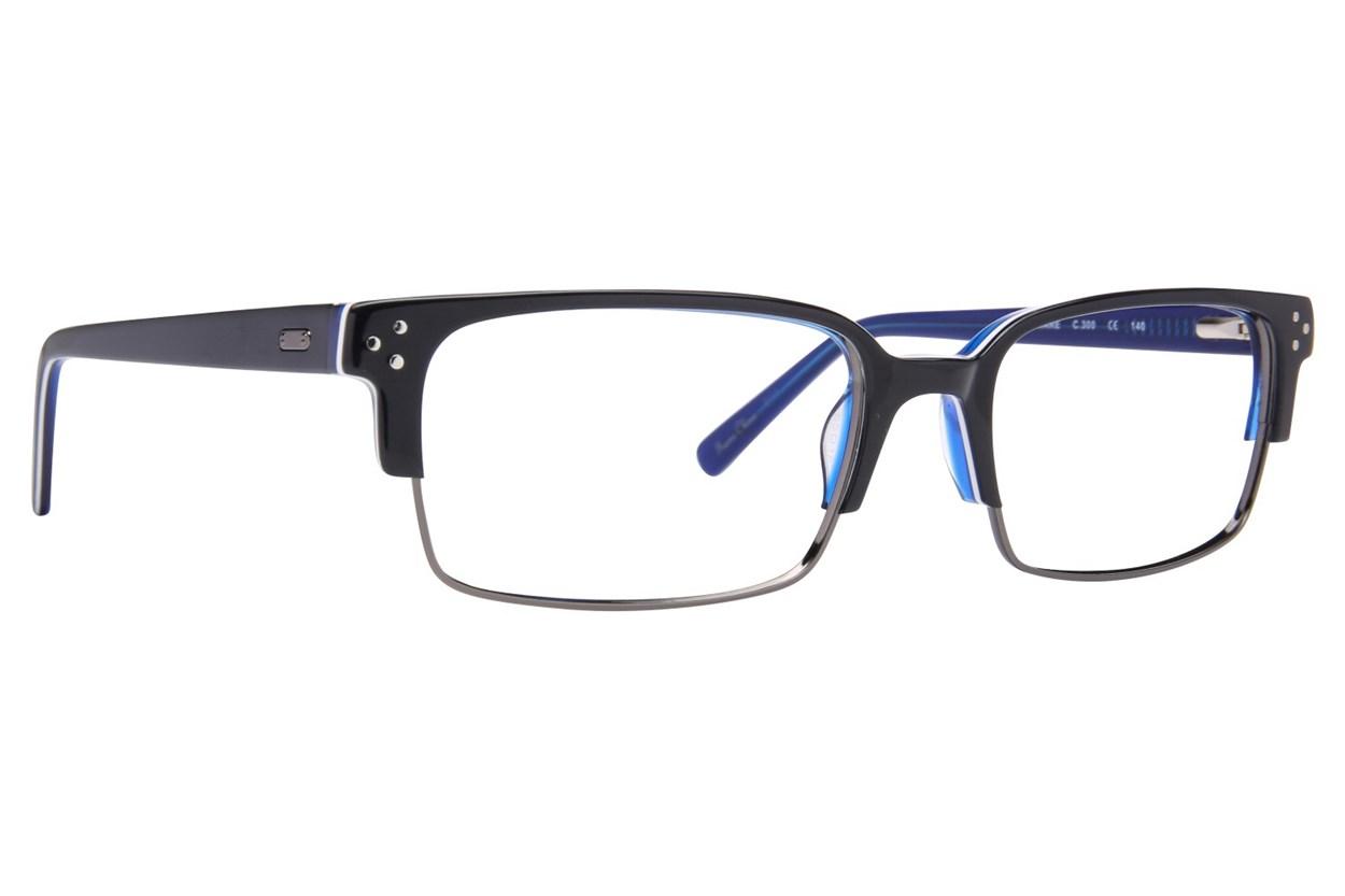 Randy Jackson RJ 1076 Blue Eyeglasses